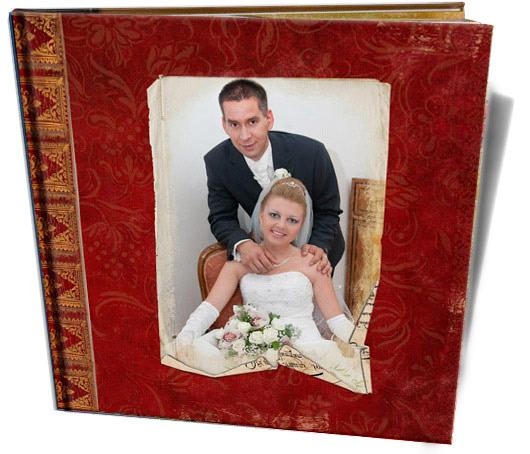 Cewe Fotókönyv minta - Szandra esküvő