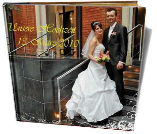 Cewe Fotókönyv minta - Esküvő 2010