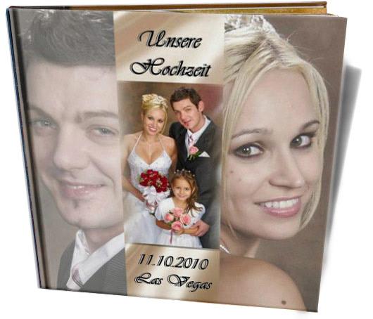 Cewe Fotókönyv minta - las vegasi esküvő